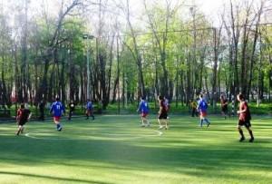 A treia etapă în campionatul municipal de fotbal